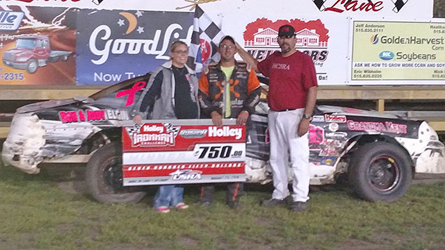Phil Holtz won the Holley USRA Stock Car feature.